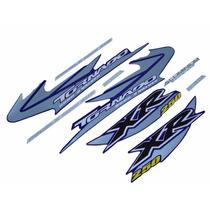 Kit Adesivos Honda Xr 250 Tornado 2005 Azul