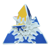Cubo Mágico Heshu Branco De Pyraminx 3x3x3