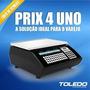 Balança Toledo Prix 4 Uno Com Impressora De Codigo De Barras