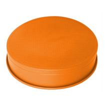 Forma Bolo,torta E Pudim Redonda Em Silicone 20 Centimetros