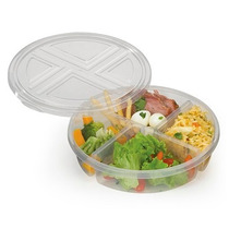 Pote Conserva Alimentos C/ Divisórias