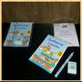 30 Bloquinhos Personalizados + Lápis + Borracha Arca De Noé
