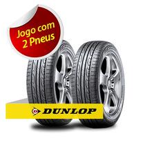Kit Pneu Aro 15 Dunlop 195/65r15 Splm704 91h 2 Unidades