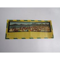 Antigo Envelope Postal Aéreo Em Branco Do Rio De Janeiro