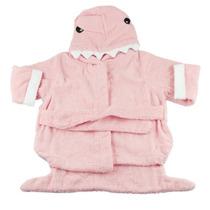 Roupão De Banho Infantil Tubarão