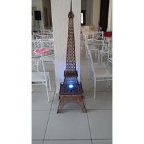 Torre Eiffell 1,80mts Em Mdf 3mm Cortado A Laser