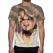 Camisa, Camiseta Chucky O Boneco Assassino