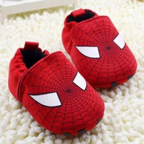 Sapatinho Bebê Menino Homem Aranha Spider Man Pronta Entrega