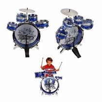 Bateria Infantil Instrumento Musical - Diversão Brinquedo