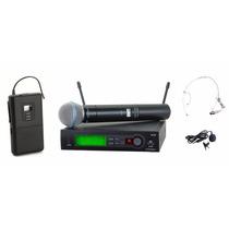 Microfone Shure Slx24 Beta 58a + Slx 1
