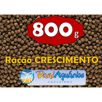 Ração Para Peixes Tilápias, Carpas, King 800g # 40% Proteína