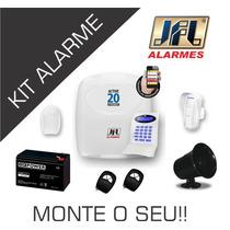 Kit Central De Alarme + Acessórios Jfl - Faça O Seu !!