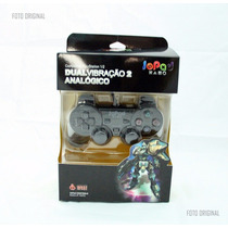 Joystick Controle Video Game Ps2 Ps1 Playstation Dual Shock
