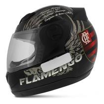Capacete Fechado Oficial Flamengo Evolution 788 G4 Tam. 58