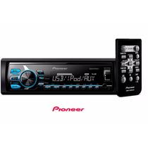 Som Pioneer Mvh-x178ui Media Receiver Mp3 Mixtrax Usb Rádio
