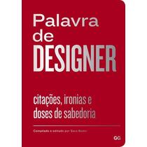 Palavra De Designer - Editora Gg