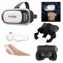 989594ce8 Óculos Realidade Virtual Vr Box 2.0 + Controle + Fone à venda em ...