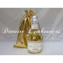 30 Kits Mini Champanhe Personalizados Saquinhos E Mini Taças