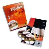 Curso De Espanhol Dvd Vídeoaulas + Livro