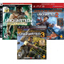 Trilogia Uncharted 1 2 3 Todos Game Of The Year Edition