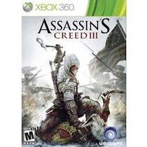 Assassin Creed3 Xbox Ou Ps3 Lacrado Aceito Trocas Por2usados