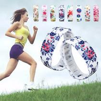 Relógio Feminino Pulseira Bracelete Silicone Led Digital