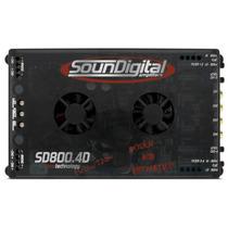 Soundigital Sd800.4d Sd800 Sd 800.4 800 Rms Mono Estéreo 4ch