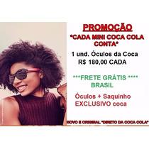 Óculos Promoção *cada Mini Coca Cola Conta* **original**