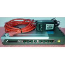 Print Server Db25 + Roteador D-link Di-707p 7 Portas