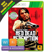Red Dead Redemption Xbox 360 + Brinde Lacrado Platinum