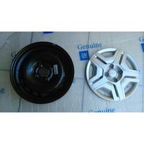 Roda De Ferro Com Calota Aro 14 Onix E Novo Prisma Usada