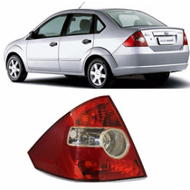 Lanterna Traseira Fiesta Sedan 04 A 2010 Bicolor Ld Esquerdo