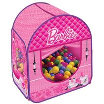Barraca Barbie Com 100 Bolinhas - Fun