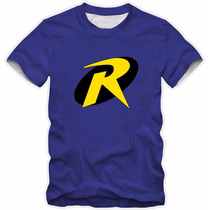 Camisa Camiseta Robin Heroi Algodão