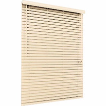 Persiana Cortina Horizontal Pvc 50mm Forest 80 X 160 Natural