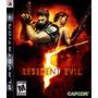 Ps3 - Resident Evil 5 - Disco Original