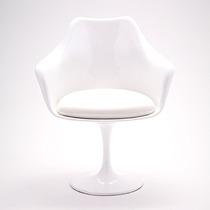 Cadeira Saarinen Tulipa Com Braço - Eero Saarinen Artesian