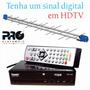 Kit Conversor Digital Hdtv Tomate + Antena Pro Log 28e Pq-10