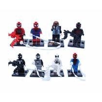 Homem-aranha Compatível Ao Lego Kit Com 8 Pçs