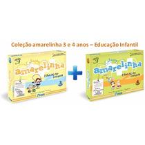 Coleção Amarelinha 3 Anos + 4 Anos - Educação Infantil