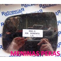 Lente Espelho Retrovisor Kia Sorento 2010 Á 2015