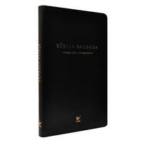 Bíblia Almeida Edição Contemporânea Ultra Fina Preta Ed Vida