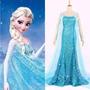 Fantasia Adulto Rainha Elsa Frozen Neve - Pronta Entrega