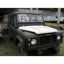 Peças ,acabamentos,,sucata Land Rover Defender 110 !