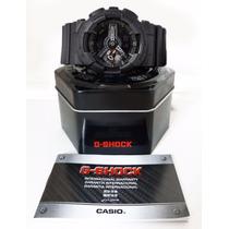 Relógio G-shock Ga-110 Casio Todo Preto Vidro Mineral