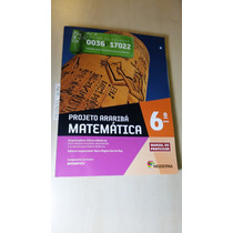 Livro Profº- Projeto Araribá Matemática 6º Ano- Novo Lacrado