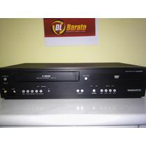 Dvd Player Magnavox Dv220mw9 Vcr Combo