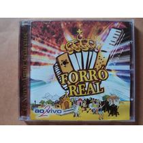 Banda Forró Real- Cd Ao Vivo Volume 2- 2000- Original Zerado
