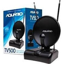 Antena Tv Digital E Analógica Hdtv 4 Em 1 Tv-500 Aquário