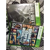 Black Ops 2 / Gta 5 V - Original Xbox 360